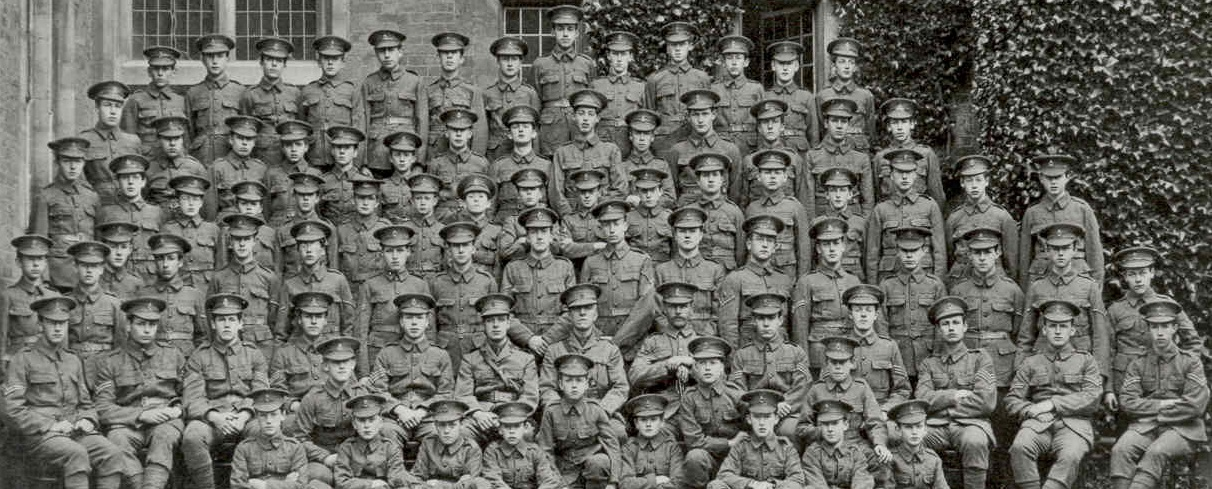 1915 newly formed Cadet Corps